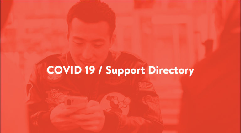 Insider Guides - COVID-19 Support directory