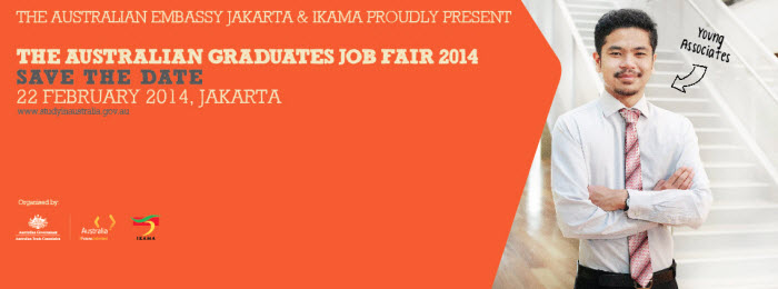 Australian Graduates Job Fair 2014 (Indonesia)