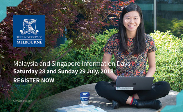 University of Melbourne Singapore and Malaysia Information Day 2018