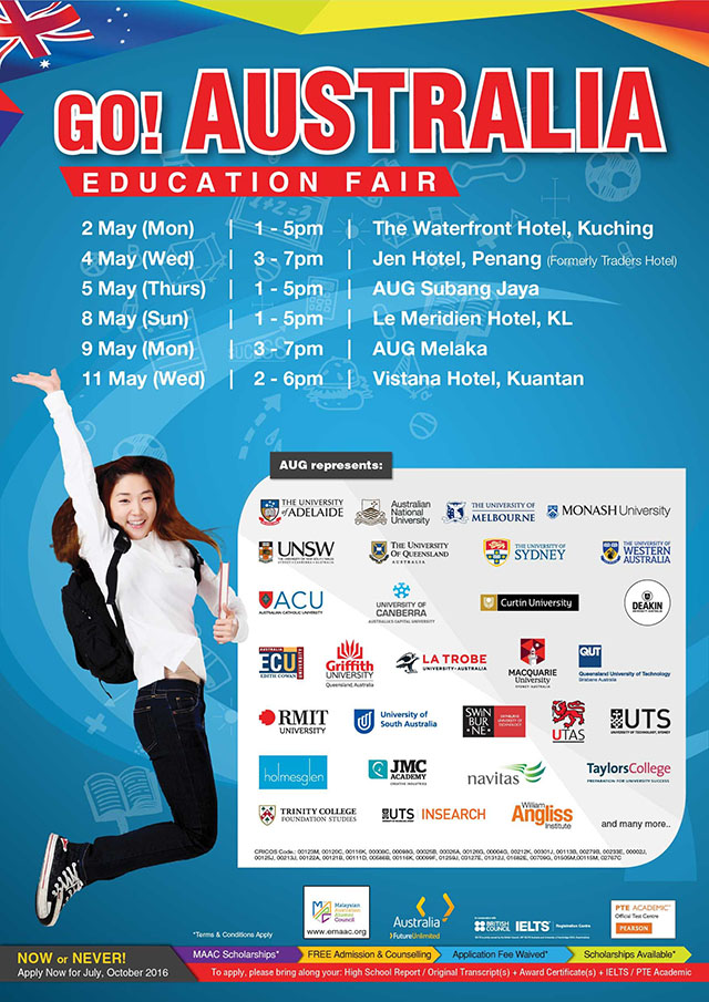 TORONTO | Sunday, March 3, 2019 | Study and Go Abroad Fairs
