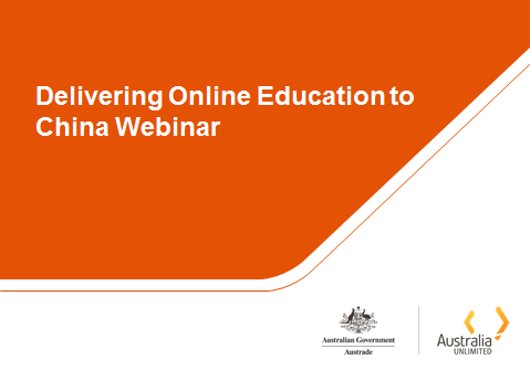 Delivering online educaction to china webinar